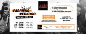 Fabrieksverkoop ZEB